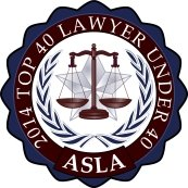 2014 Top 40 Lawyer Under 40 - ASLA